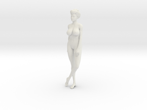 1/9 Elegant lady 016 in White Strong & Flexible