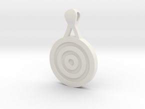 Target Pendant in White Strong & Flexible