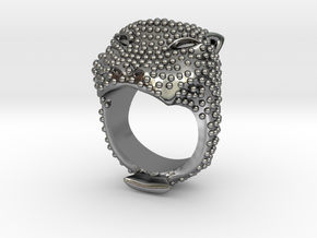 COLOSSEO Ring in Polished Silver