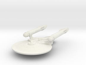 Maxin Class B  Cruiser  New Axanar Ship  in White Strong & Flexible