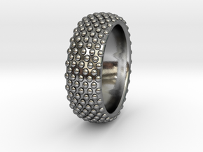 VOMERO Ring in Polished Silver