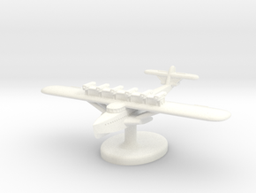 Dornier Do-X German Seaplane (Germany) 1/700 (Qty. in White Strong & Flexible Polished
