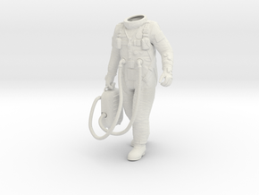 1:6 Gemini Astronaut / Protectiv Leggings in White Strong & Flexible