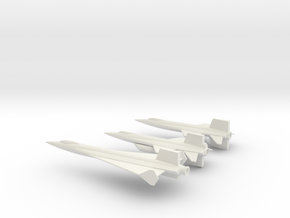 1/285 X-15 X-15A2  X-15 DELTA in White Strong & Flexible