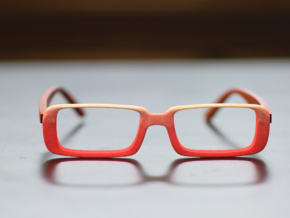 Optoid Hybrid MkXIV: Custom Fit Rx Eyewear in White Strong & Flexible Polished