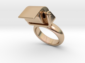 Toilet Paper Ring 32 – Italian Size 32 in 14k Rose Gold Plated