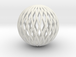 Math Sphere in White Strong & Flexible