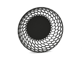Fruit Bowl in Black Strong & Flexible