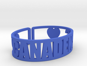 Canadensis Cuff in Blue Strong & Flexible Polished