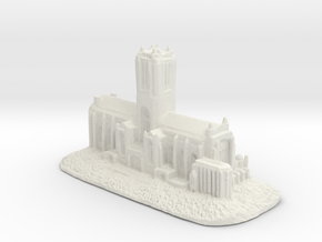 Liverpool cathedral in White Strong & Flexible