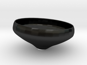 Cup Of Glory in Matte Black Porcelain