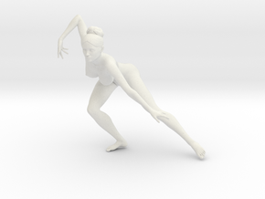 1/18 Nude Dancers 003 in White Strong & Flexible