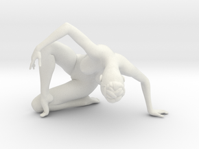 1/18 Nude Dancers 023 in White Strong & Flexible
