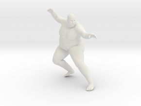 1/20 Fat Man 003 in White Strong & Flexible