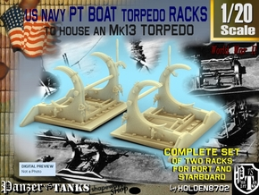 1-20 PT Torpedo Rack TypB in Frosted Ultra Detail