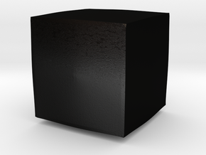 Puzzle Box of Eternal Disappointment in Matte Black Steel