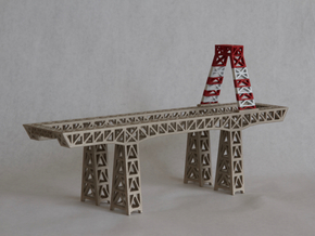 """8"""" Hunters Point crane in White Strong & Flexible"""