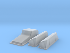 1/32 Ford 427 Side Oiler Stock Pan And Cover Kit in Frosted Extreme Detail