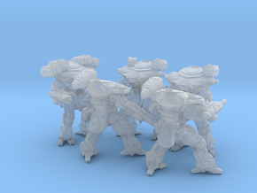 Quenn Tactical Armor Squad in Frosted Ultra Detail