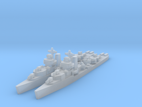 Benham class destroyer 1/4800 in Frosted Ultra Detail