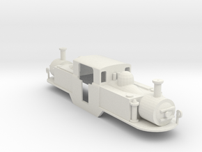 FR 0-4-4-0T Double Fairle Loco Merddin Emrys in White Strong & Flexible