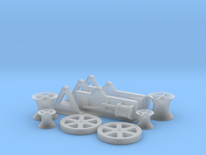 Titanic Steam Winch Scale 1:144 in Frosted Extreme Detail