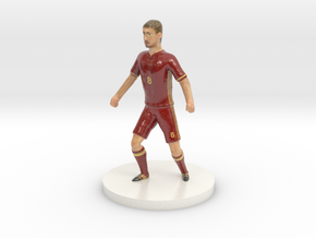 Russian Football Player in Coated Full Color Sandstone