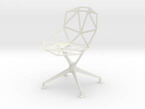 Chair One in White Strong & Flexible