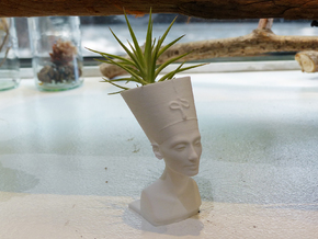 Nefertiti Mini Planter in White Strong & Flexible
