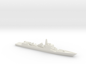 Type 052C Destroyer, 1/1800 in White Strong & Flexible