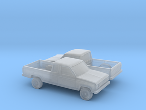 1/160 2X 1983-88 Ford Ranger Ext Cab in Frosted Ultra Detail