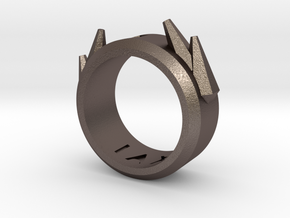 2016 Futuristic Ring in Stainless Steel