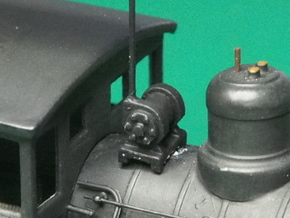 HO scale Turbo Generator for steam locos x6 in Frosted Ultra Detail