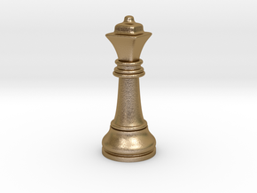 05Queen2 Small Single in Polished Gold Steel