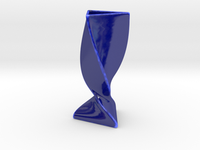 Star Goblet in Gloss Cobalt Blue Porcelain