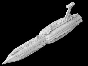 """Providence Destroyer """"Invisible Hand"""" (1/7000) in White Strong & Flexible"""