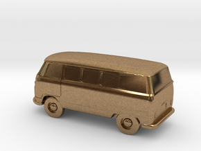 VW Bus in Metal - Zscale in Raw Brass