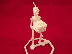 Generous Robot in White Strong & Flexible