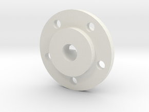 Mach5 Hubs Without Disks in White Strong & Flexible