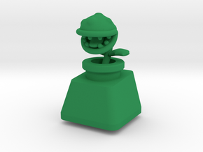 Topre Piranha Plant Keycap in Green Strong & Flexible Polished
