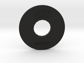 Clay Extruder Die: Circle 001 06 in Black Strong & Flexible