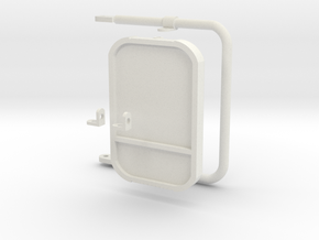 1:6 scale Hasbro HMMWV  Passenger mirrors in White Strong & Flexible