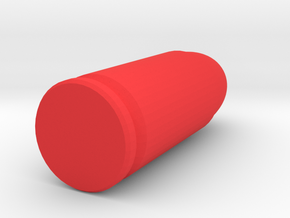 9mm snap cap  in Red Strong & Flexible Polished