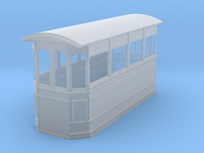Kitson style steam tram 009 in Frosted Ultra Detail