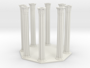 Gothic Chapel 2&3 Base 70% Scale in White Strong & Flexible