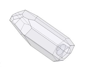 Graflex 2.0 Knight Chassis - Ilum Crystal in White Strong & Flexible