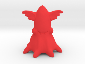Vampire Squid in Red Strong & Flexible Polished