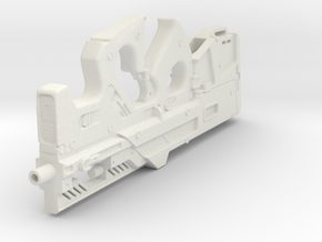 1:6th Scale Compact Weapon System in White Strong & Flexible