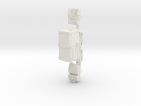 1:6th Scale CTRS Sights in White Strong & Flexible