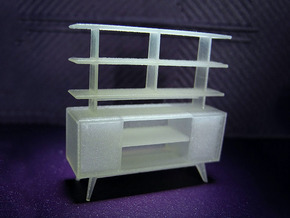 1:48 Moderne Room Divider in Frosted Ultra Detail